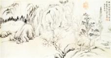 岩居图装饰画
