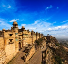 古典的印度建筑图片