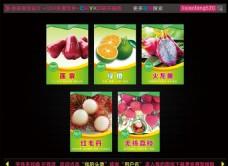 热带水果 灯箱片