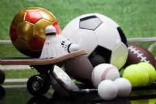 球类体育器材摄影图片