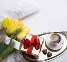 郁金香巧克力图片