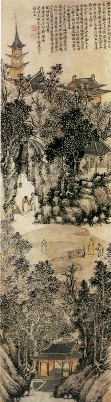 虎丘前山图