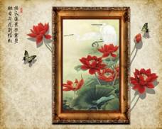 花卉画框装饰画