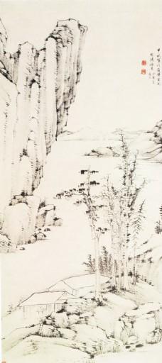 古代山水名画图片