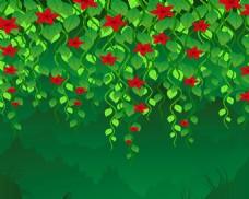 花藤背景墙