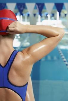 女性游泳运动员图片