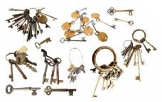 成串的钥匙图片