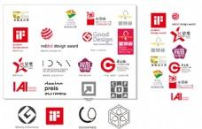 各种工业设计奖logo