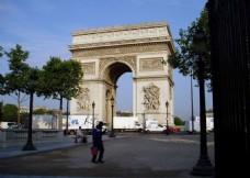 MAYA巴黎凯旋门三维模型设计