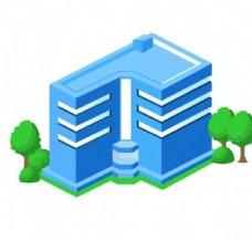 立体房子图标