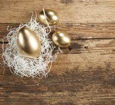 木板上的金蛋图片