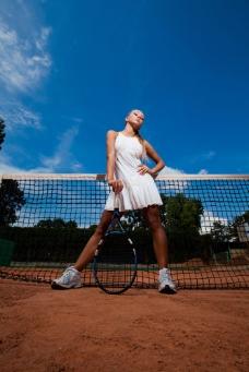 女子网球运动员图片