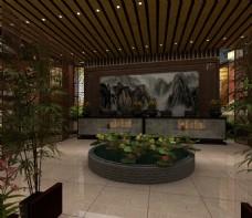 中式茶楼餐厅
