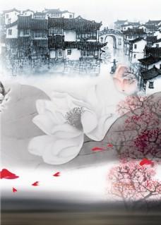花朵风景装饰画