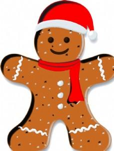 圣诞节 姜饼 圣诞树 姜饼人