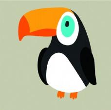 卡通可爱的鸟 载体 材料 免费