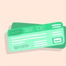 信封 机票 包装设计 广告设计