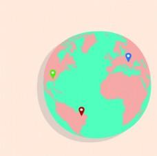 地球 WORLD 世界 儿童画