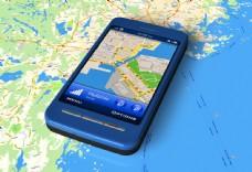 GPS导航手机图片