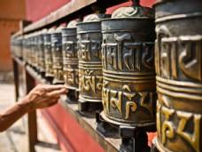 西藏寺庙风景图片