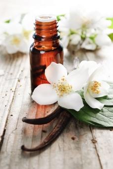 鲜花与精油图片