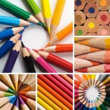 彩色创意铅笔图片