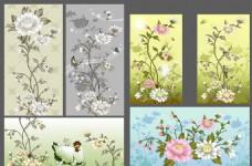 鲜花装饰背景