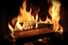 木材,木柴,火,壁炉,热,火焰