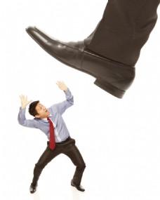 皮鞋下的商务男士图片