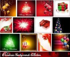starstudded圣诞背景