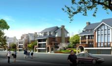别墅小区规划设计图片