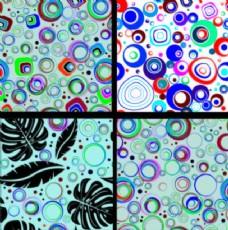 彩色无缝圈模式