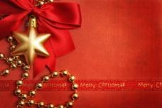 红色圣诞背景图片