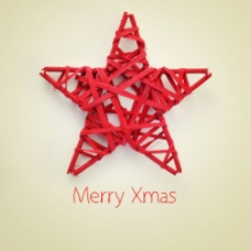 圣诞节五角星饰品图片