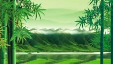 野外风景背景墙