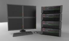 电源服务器图片