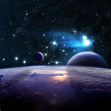 宇宙中的星球图片