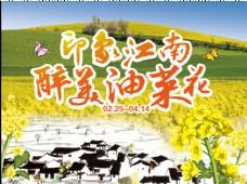 油菜花天旅游海报