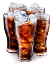 加冰的可乐图片