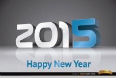 2015新年现代数字背景