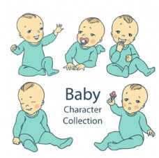宝宝婴儿宝贝插图