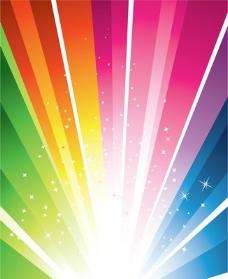 明亮的光线矢量