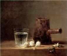 油画杯子装饰画