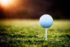 阳光与高尔夫球图片