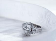 高贵钻石戒指素材图片