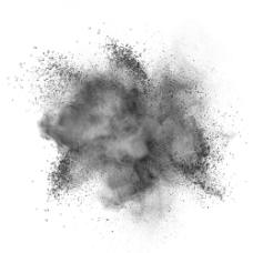黑色粉末背景图片