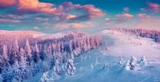 冬天雪景高清