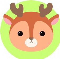 可爱森林动物头像