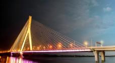 大桥高清夜景