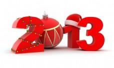 2013圣诞节立体字图片